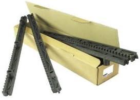 Cremallera para puerta corredera Nylon - Paquete de 4 mt 8 Piezas CRP4 Hiltron - Made in Italy