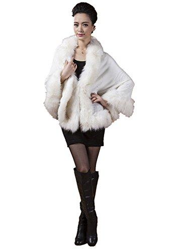 Blanc Manteau Charmly Femme Unique Taille gq0wY4UY
