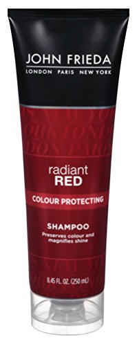 John Frieda Shampoo Radiant Red Daily 8.45 Ounce (249ml) (3 Pack) by John Frieda
