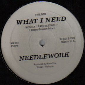 Needlework - What I Need (Medley Pacific State) - Not On Label - NW 001