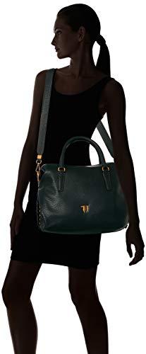 75b00448 Negro Trussardi Bolsa Jeans 9y099999 Mujer 5w5q0xZp