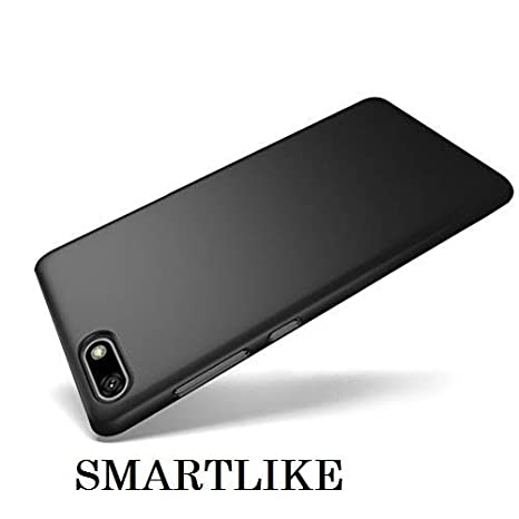 SmartLike Shockproof Silicone Back Cover for Huawei Y5 Prime (2018) - Black