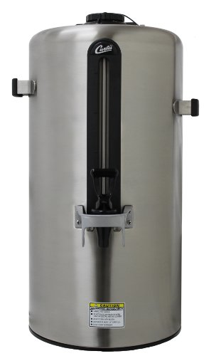 Wilbur Curtis Thermal Dispenser 3.0 Gallon Dispenser, Vacuum Sealed, Stainless Steel Body - Coffee Dispenser - TXSG0301S200 (Each) by Wilbur Curtis