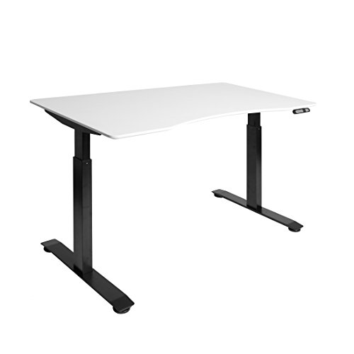 Seville Classics OFFK65820 Airlift S2 Electric Standing Desk with 54