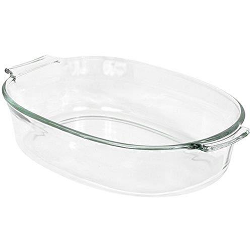 Pyrex 2-Quart Oval Glass Bakeware Dish Deep Oval Baking Dish