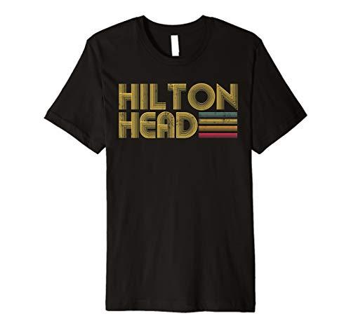 Hilton Head SC Vintage Retro 70's 80's Style T Shirt Men