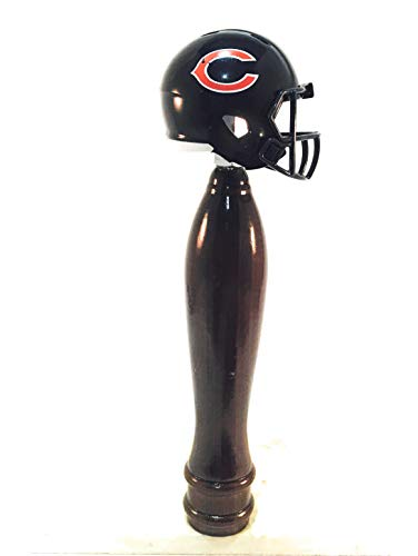 Chicago Bears Pub Style Beer Tap Handle Cherry
