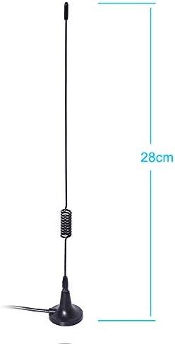 Bingfu Fm Ukw Radio Antenne F Stecker Magnetfuß Elektronik
