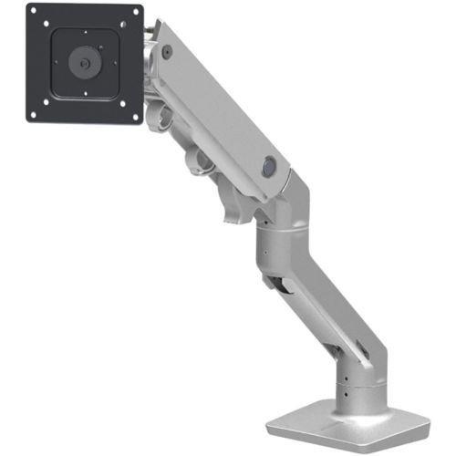 Ergotron 45-475-026 HX Desk Mount Monitor Arm in Polished Aluminum for 20 - 42 lbs Monitors