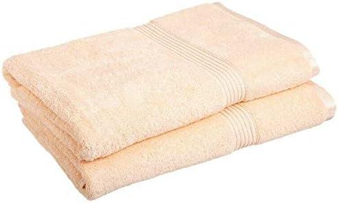 2-Piece Peach 600 GSM Egyptian Cotton Bath Sheet Towel Set 1-Ply Bath Towels Variety Towel Bath Towels Bathroom Set Bathroom Towels Towels Bathroom Sets Bathroom Sets Towels for Bathroom Bath Towel