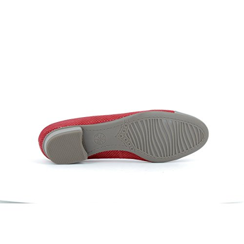 Ara shoes Women's Ballet Flats red Size: 3 hvWnCM0Z
