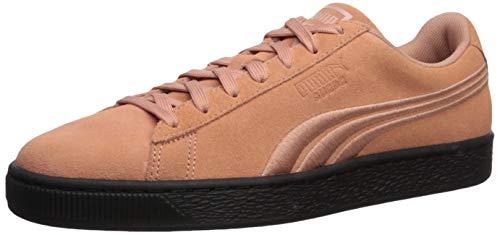 PUMA Suede Classic Sneaker, Muted Clay Black, 11.5 M US (Men Puma Shoes Brown Suede)