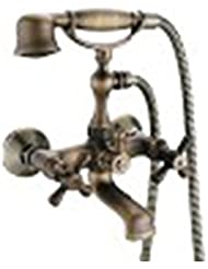 Ling All Copper Shower Faucet Cold And Hot Taps For Bathroom