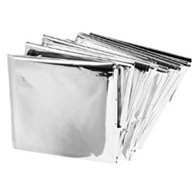 Emergency Mylar Blankets - 84  x 52  (4 Pack)