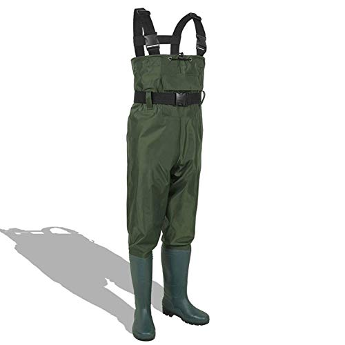 CHXIAN Waders for Men, Fishing Mens Waterproof Lightweight and Flexible Durable Comfortable Suitable for Car Washing…