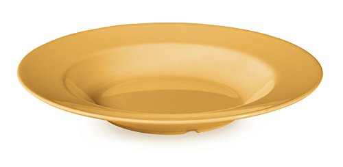 G.E.T. B-1611-TY, Diamond Mardi Gras Collection, Yellow 16 oz. Melamine Bowls (Qty, 12)