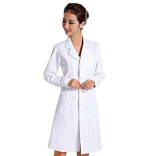 Female Doctor Costume (CalorMixs White Unisex 40 Inch Professional Medical Lab Coat)