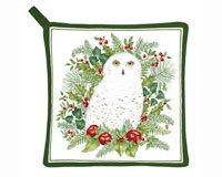 Alice's Cottage AC21325 Snowy Owl Pot Holder by Alice's Cottage