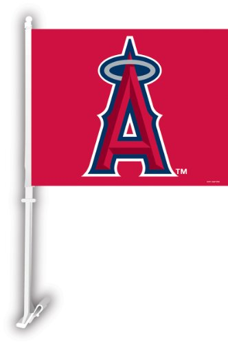 Angels Car Flag (MLB Anaheim Angels Car Flag)