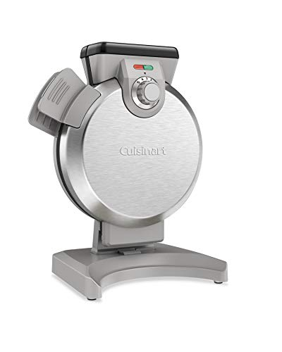 Cuisinart WAF-V100 wafflemaker, Silver (Best Waffle Iron With Removable Plates)