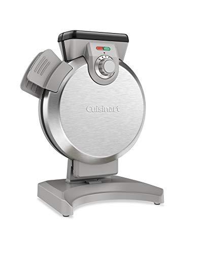 Cuisinart WAF-V100 wafflemaker, Silver (Best Rotating Waffle Maker)