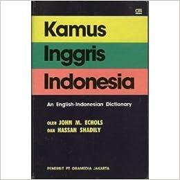 Kamus Inggris Indonesia Hassan Shadily Pdf