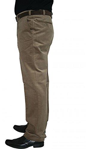 M fexible Stretch Cordhose Murk 9005 grau, blau oder beige, Farbe:Dunkelblau, Herren-Größe:56