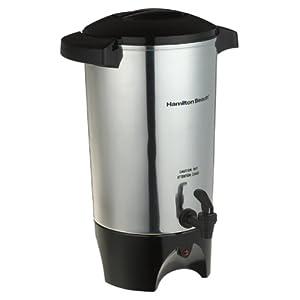 Hamilton Beach 40515 45 -Cup Coffee Urn, Silver
