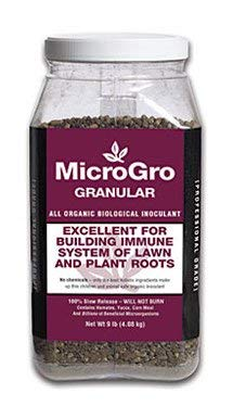 Organic Biological Inoculant MicroGro Granular Builds Root Immune Systems by MicroLife (9 LB)