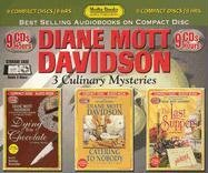 Diane Mott Davidson: Dying for Chocolate, Catering to Nobody, the Last Suppers 1578155606 Book Cover