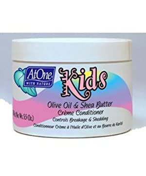 At One with Nature Kids Olive/Shea Cream 160 ml by At One