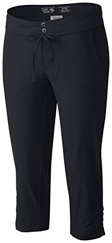 Mountain Hardwear Women's Yuma Capri Pants, Black, 8x20 - Mountain Hardwear Womens Capris