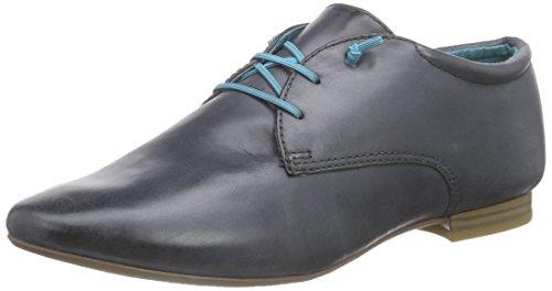 Tamaris 23209 - Zapatos de cordones derby Mujer Azul - Blau (NAVY PLAIN 844)