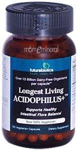 Living Longest 100 Caps - FUTUREBIOTICS LONGEST LIVING ACIDOPH +, 100 CAP