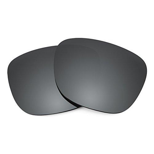 Verres de rechange pour Smith Lowdown — Plusieurs options Noir Chrome MirrorShield® - Polarisés