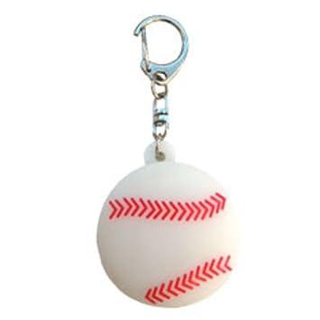 fosforescente de la mascota Llavero del beisbol: Amazon.es ...