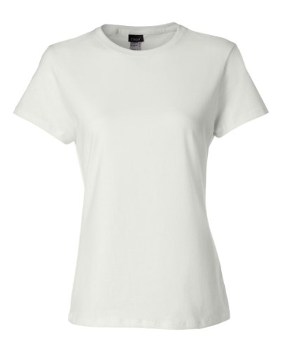 Hanes Women's Nano T-Shirt, Small, White (Best Quality Women's T Shirts)