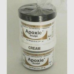 Apoxie Sculpt 1 lb. Natural, 2 Part Modeling Compound (A & B) by Aves