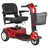 Golden Companion 3 Wheel Scooter Weight Capacity 300lbs-Blue