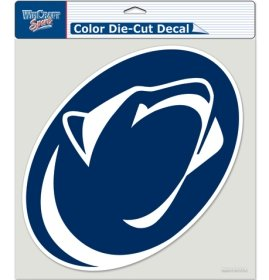 Die Cut Decal United (WinCraft NCAA Penn State University Perfect Cut Color Decal, 8