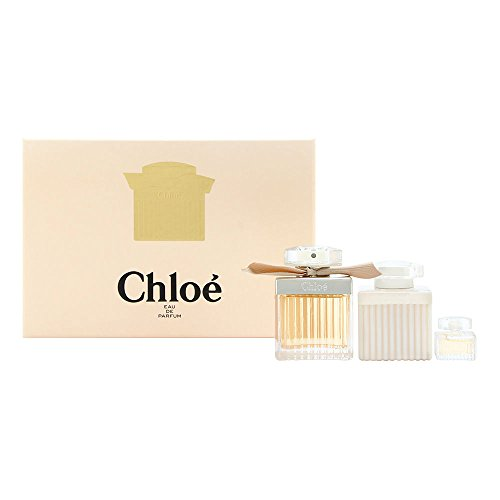 Signature Lotion Body Perfumed (Chloe by Parfums Chloe for Women 3 Piece Set Includes: 2.5 oz Eau de Parfum Spray + 3.4 oz Perfumed Body Lotion + 0.17 oz Eau de Parfum)