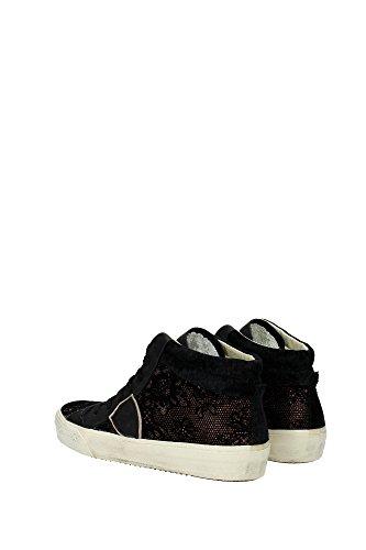 Sneakers Negro Tejido Mujer Model Philippe Negro MDHDBQ03 qUzOwHPnU