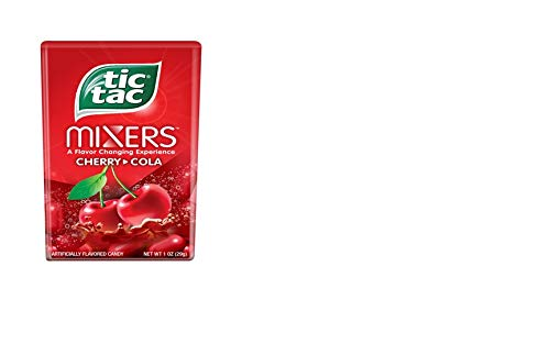 tic tac Mixers, Cherry Cola, 1 Ounce (Pack of 24)