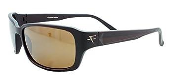 c401cc1561a67 Fatheadz Eyewear Men s Jaxon V2.0 FH-V124-1BR Polarized Rectangular  Sunglasses