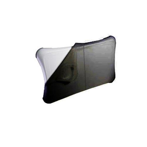 Premium BLACK Durable Flexible Soft Silicone Skin Case Cover for Nintendo Wii Fit Balance Board (Balance Board Cover)