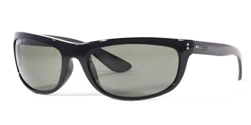 RayBan RB4089 601/58 Size 62 Balorama Black/Crystal Green Polarized - Ray Polarized Ban Luxottica