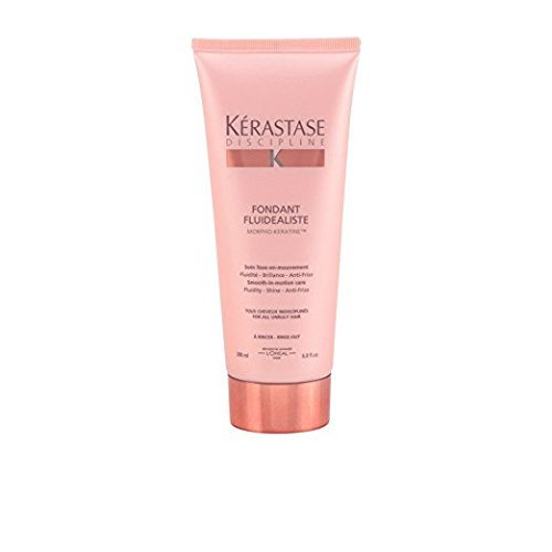 Kerastase Discipline Fondant Fluidealiste Smooth-in-Motion Care Conditioner for Unisex, 6.8 Ounce by Kerastase (Image #1)