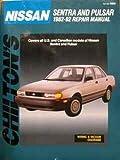 Nissan Sentra, Pulsar, 1982-92, Chilton, 0801982634