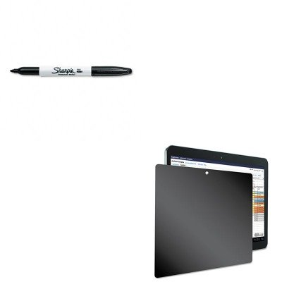 KITKTKSVT4822SAN30001 - Value Kit - Kantek Four-Way Privacy Filter for Samsung Galaxy Tab 10.1 (KTKSVT4822) and Sharpie Permanent Marker (SAN30001) by Kantek