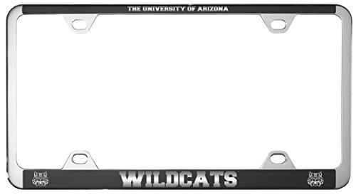 (University of Arizona -Metal License Plate Frame-Black)